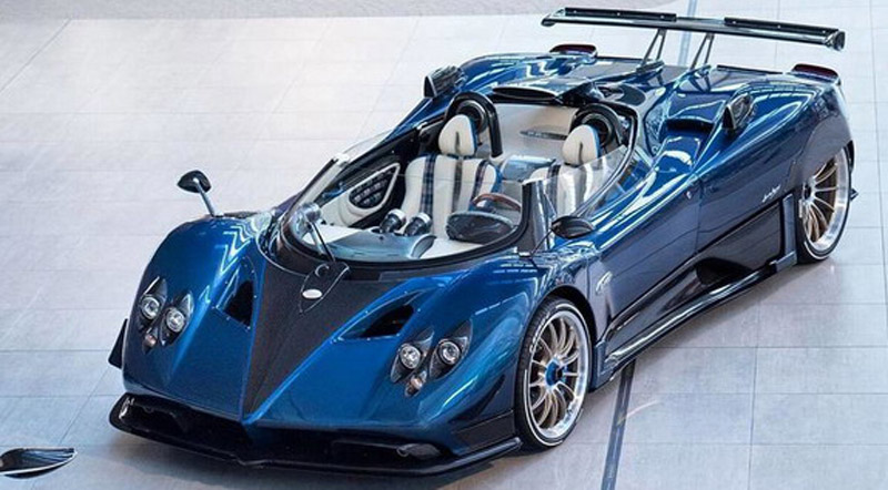 Special Zonda HP Barchetta Will Cost €15 Million