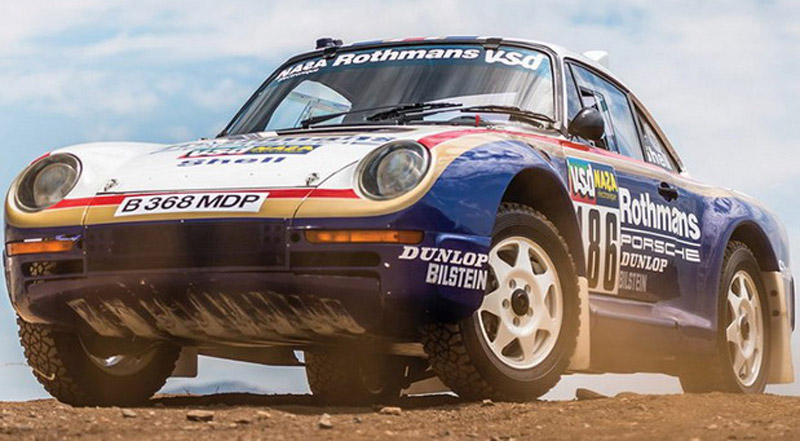 Porsche 959 Paris-Dakar At Auction