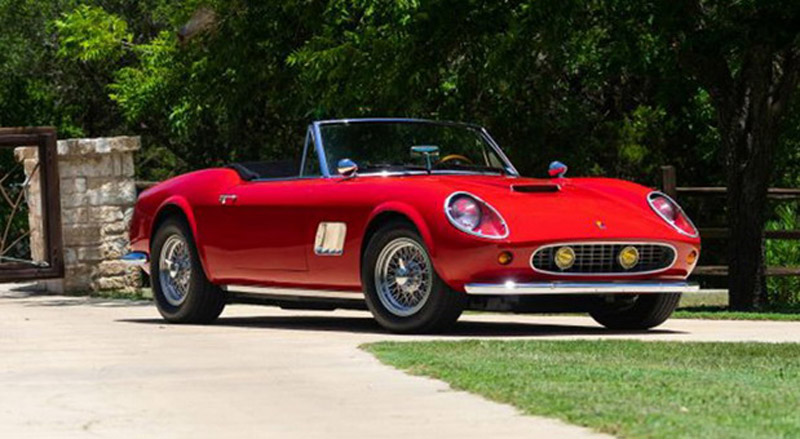 "Replica Of Ferrari 250 GT From ""Ferris Bueller's Day Off"" On Sale"