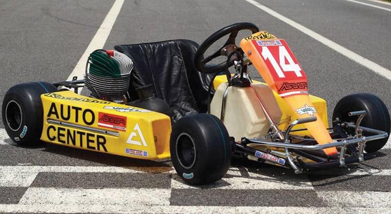 Ayrton Senna's Last Kart Goes Under The Hammer