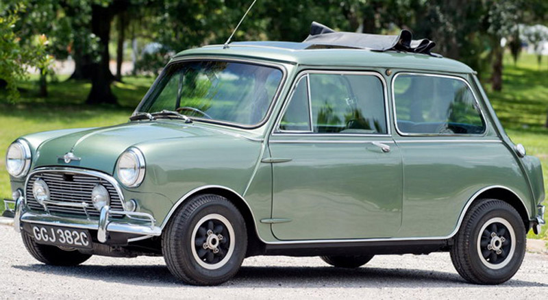 Paul McCartney's 1965 Mini Cooper S DeVille Goes Under The Hammer