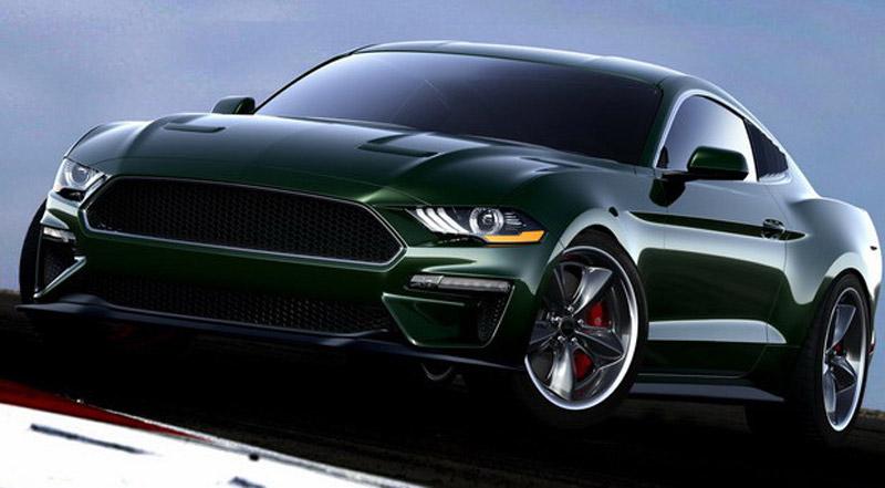 Steeda Mustang Bullitt Steve McQueen Edition