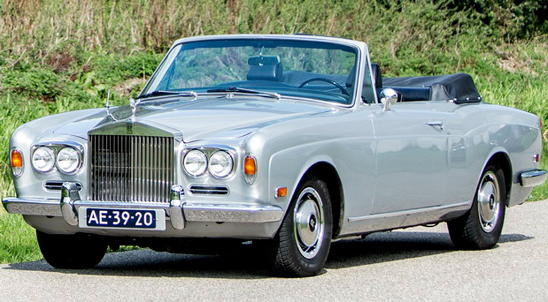 Rolls-Royce Silver Shadow Owned by Muhammad Ali Goes Under The Hammer