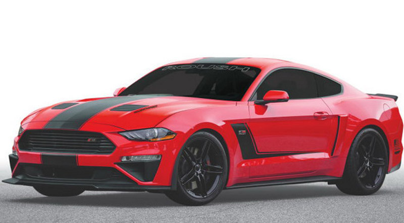 2019 Roush Stage 3 Mustang with 710 HP