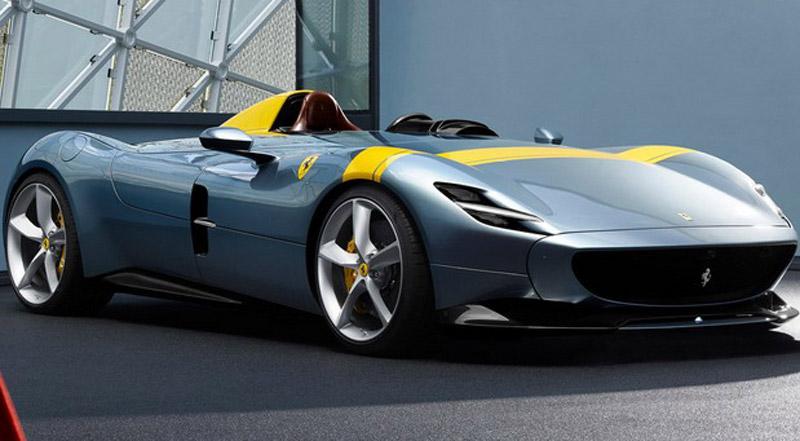 Official: Ferrari Monza SP1 and Monza SP2