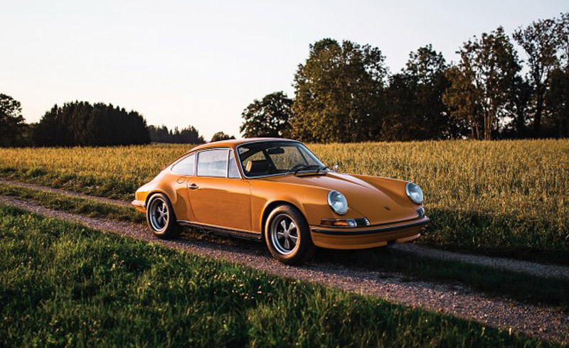 Rare Beast: Prototype Of Porsche 911 Carrera RS From 1972 On Sale