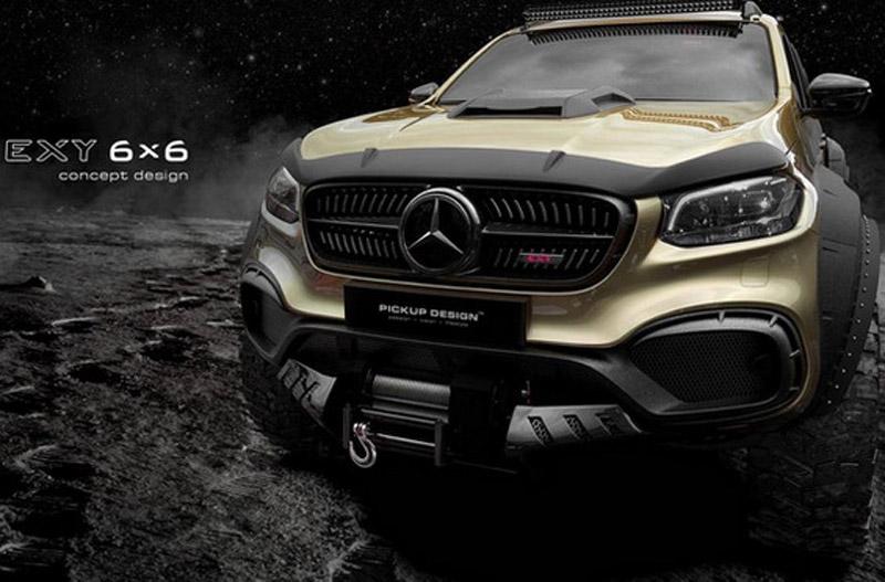 Carlex Design Mercedes Exy 6×6 Concept