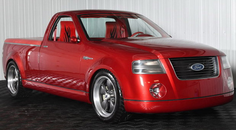 2001 Ford F-150 Lightning Concept Ready For Auction