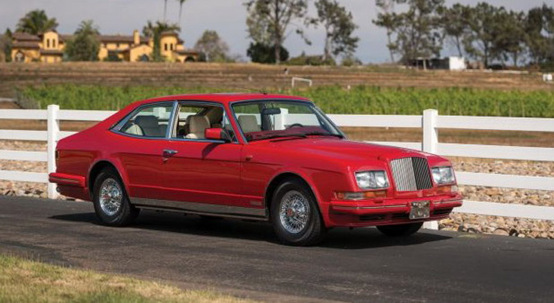 Bentley Turbo RL Empress II Coupe Goes Under The Hammer