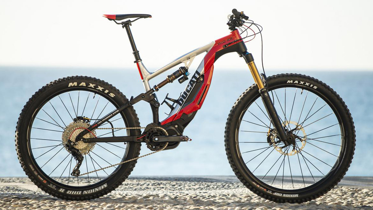 MIG-RR – Ducati's New Electric Mountain Bike