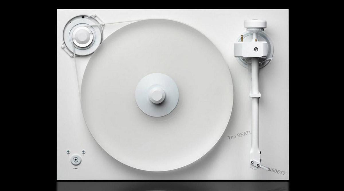 Pro Ject X The Beatles 2xperience White Album Turntable Extravaganzi
