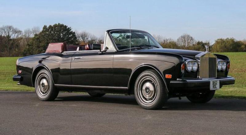 Frank Sinatra's Rolls Royce Corniche On Sale