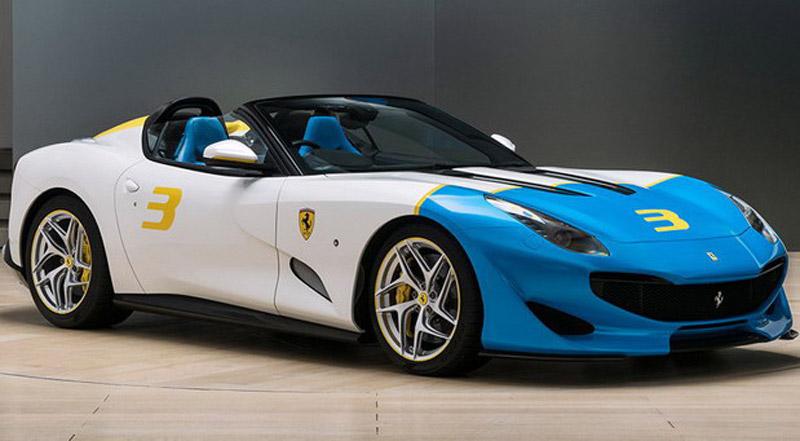 Unique Ferrari SP3JC