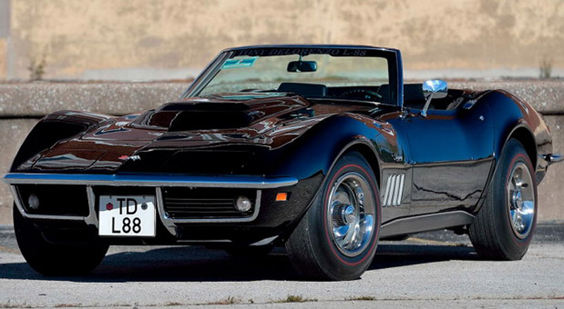 A Pair Of Very Rare L88 Chevrolet Corvette Goes Under The Hammer