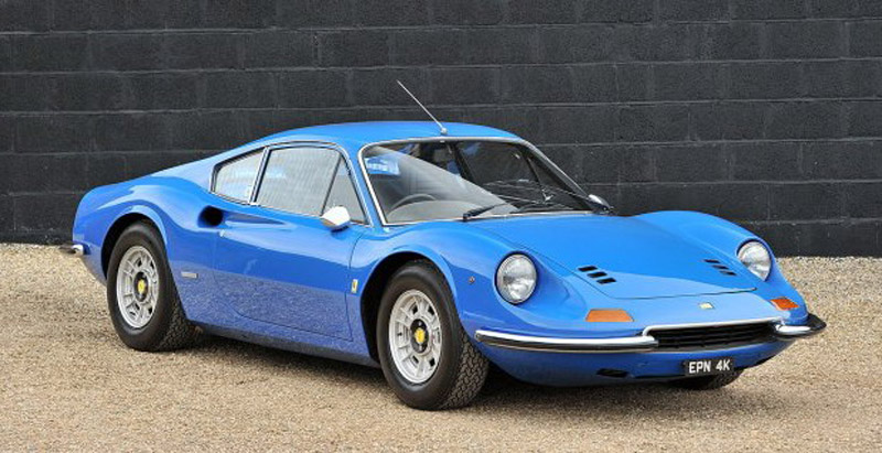 Ferrari Dino 246GT Coupe from 1971 On Sale