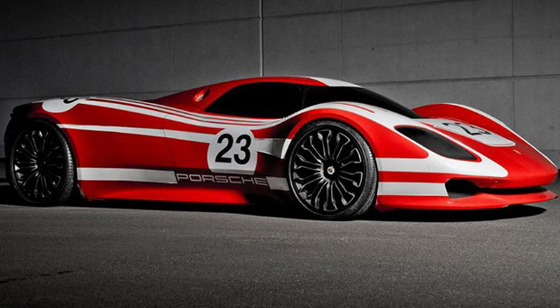 Modern Porsche 917 In Honor of 50 Years of Champion Model