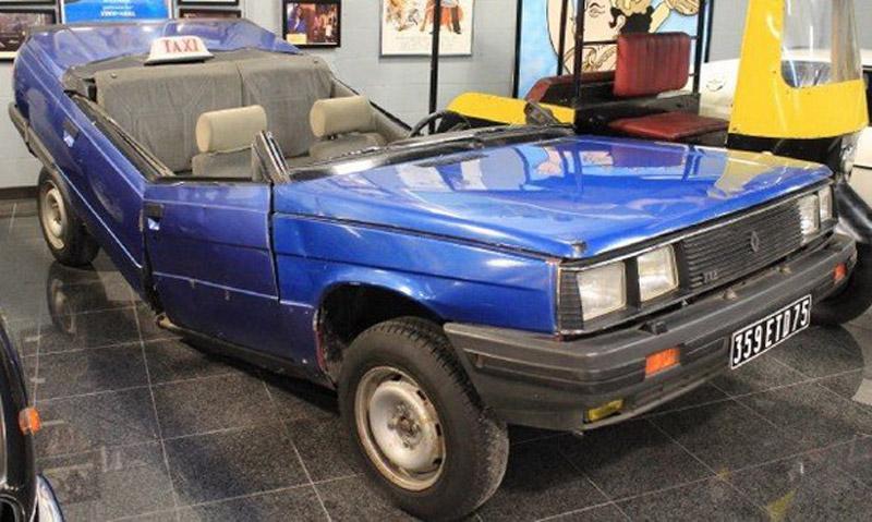 On Sale Both Halves of Secret Agent 007? Renault 11