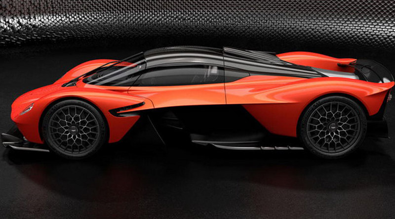 David Coulthard Ordered Aston Martin Valkyrie And Mercedes-AMG One