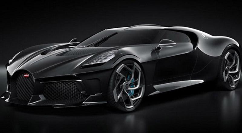 Ronaldo Bought Unique Bugatti La Voiture Noire