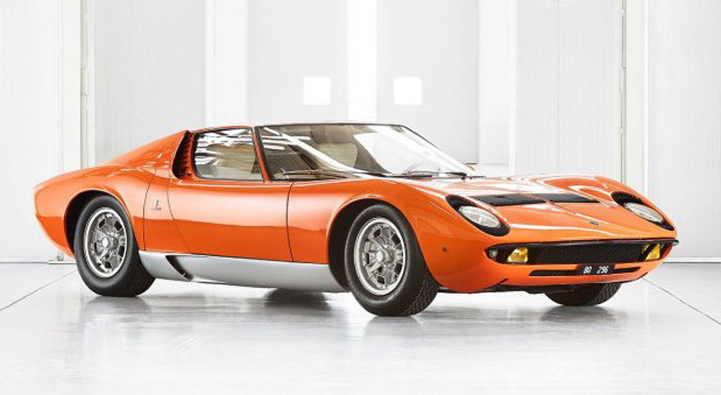 "Lamborghini Found Original Miura P400 From The Movie ""The Italian Job"" After Half A Century"