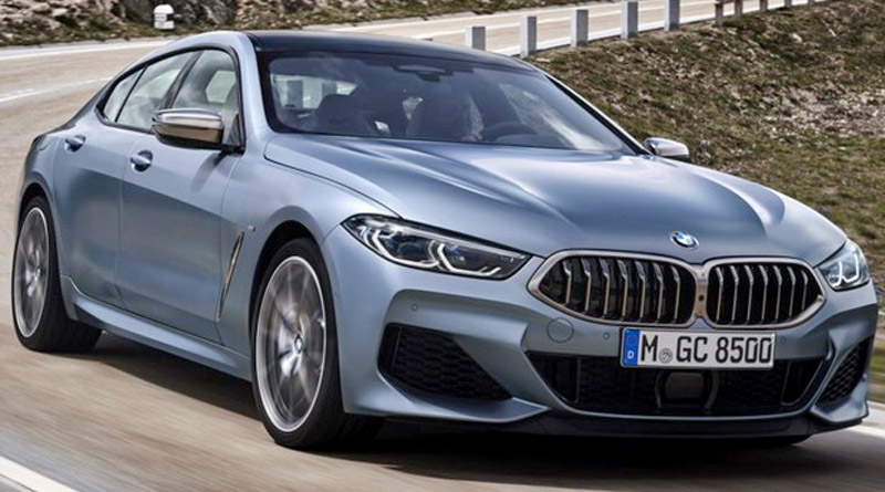 BMW Series 8 Gran Coupe Now Officially