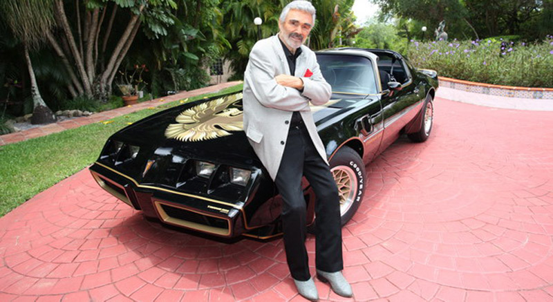 "Last Private Burt Reynolds' ""Bandit"" Trans Am Sold For $317,500 At Auction"