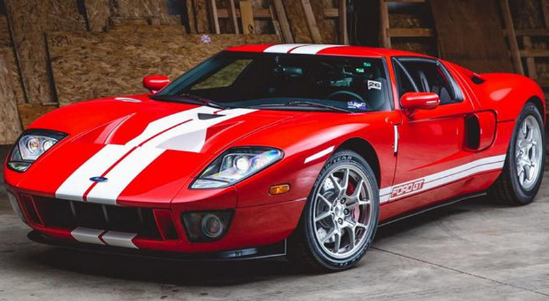 On Sale Ford GT from 2006 With Only 19 km