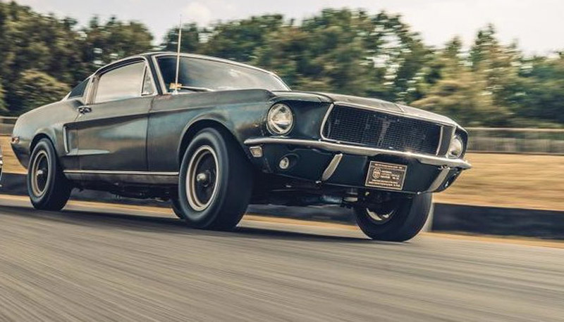McQueen's Ford Mustang Ready For Auction