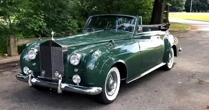 Elizabeth Taylor's Rolls-Royce On Sale