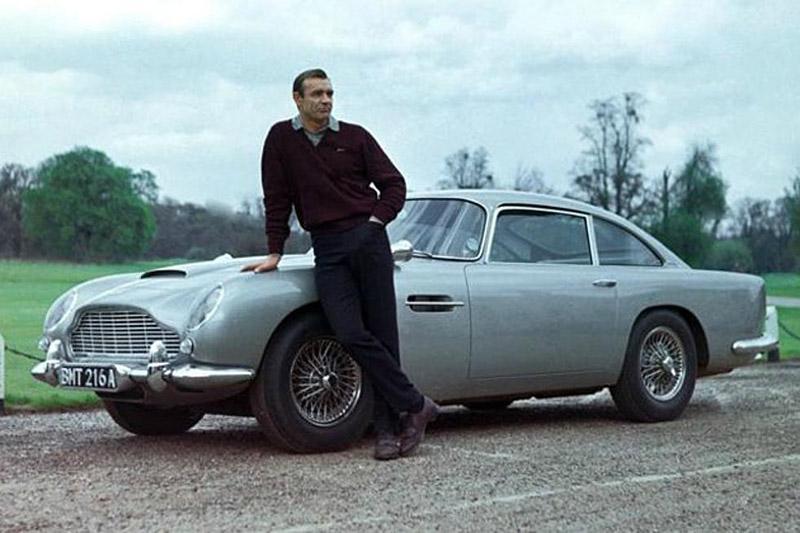 Bond's Aston Martin DB5 Sold For $6,385,000