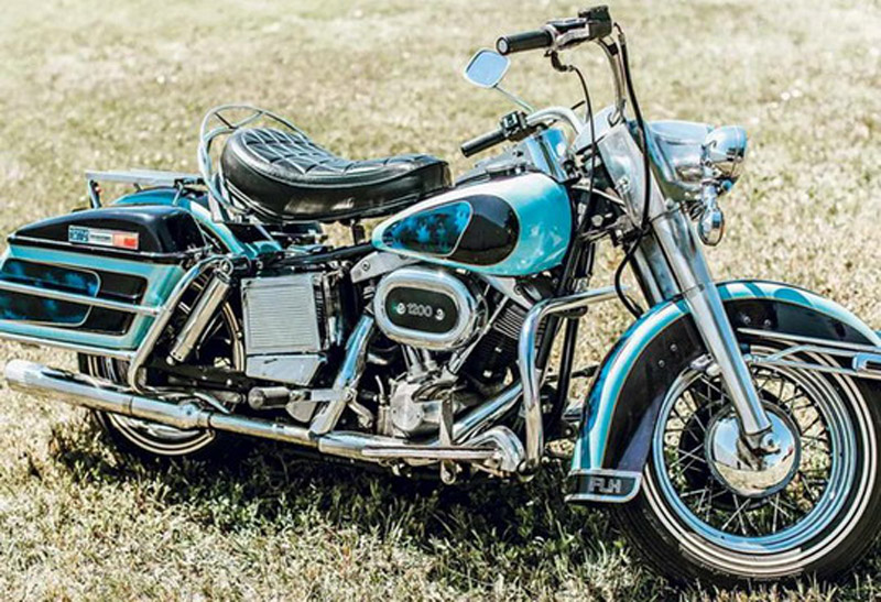 "Elvis Presley's Harley-Davidson Sold For Price Worthy Of ""King"""