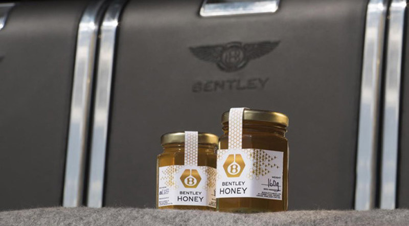 Bentley Offers Its Own Brand Of Honey