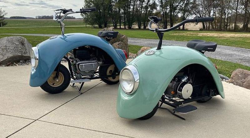 """Volkswagen's """"Beetle"""" Is Back – Like Motorcycle"""
