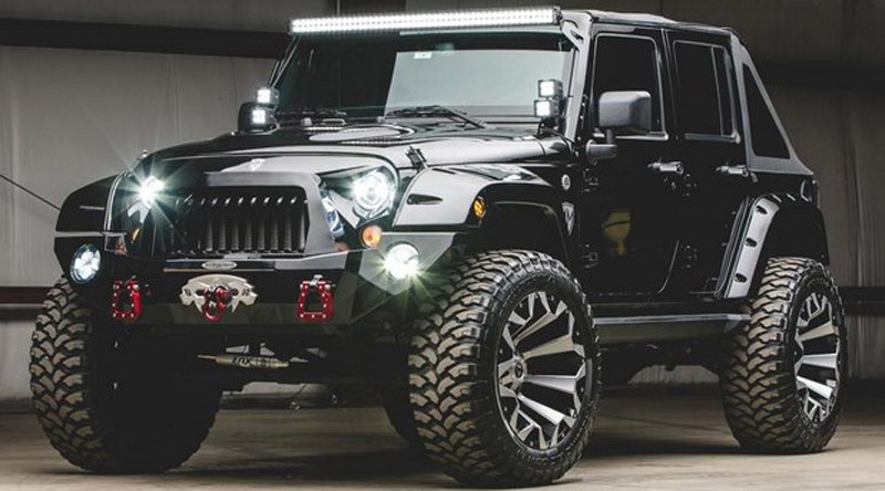 Jeep Wrangler Ready for the Apocalypse