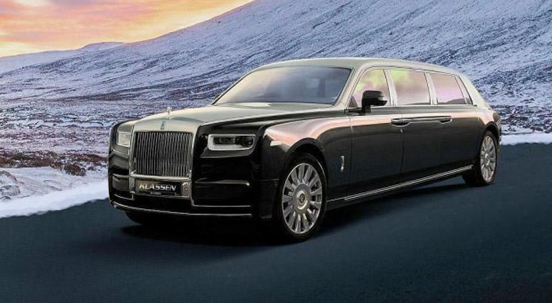 Extended And Armored Klassen Rolls-Royce Phantom