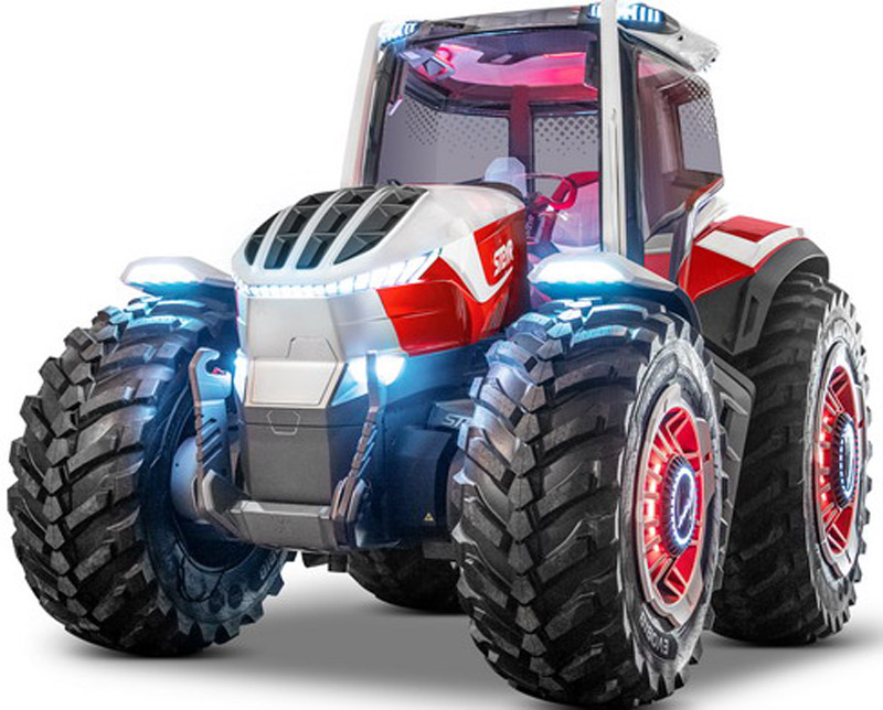 STEYR Konzept – Hybrid Technology In Tractor World