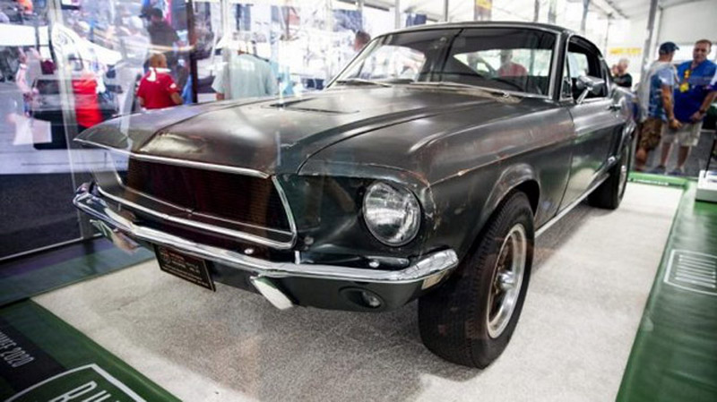 "Original Ford Mustang From ""Bullitt"" Ready For Auction"