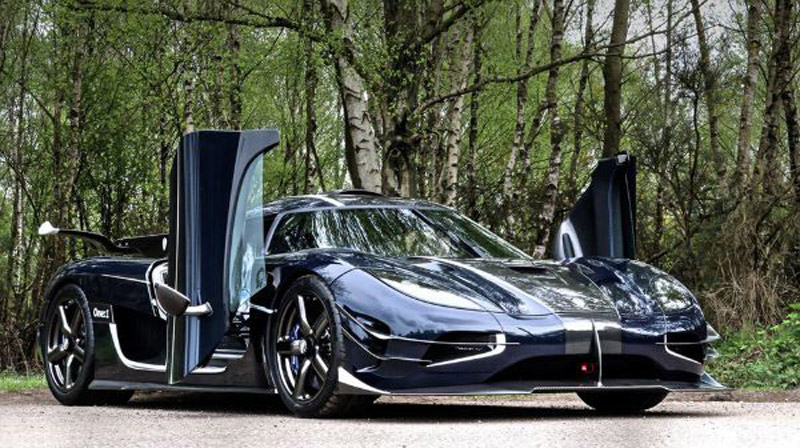 Koenigsegg One On Sale For $7.1 Million