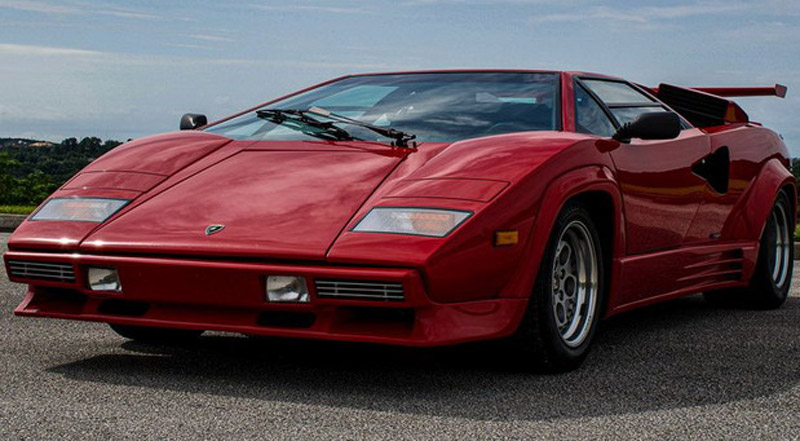 Lamborghini Countach 5000 QV With 31,500 km On Sale