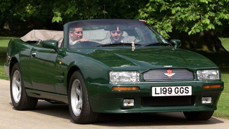 Prince Charles's Aston Martin On Sale