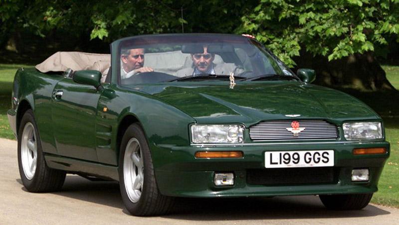 Prince Charles's Aston Martin On Sale
