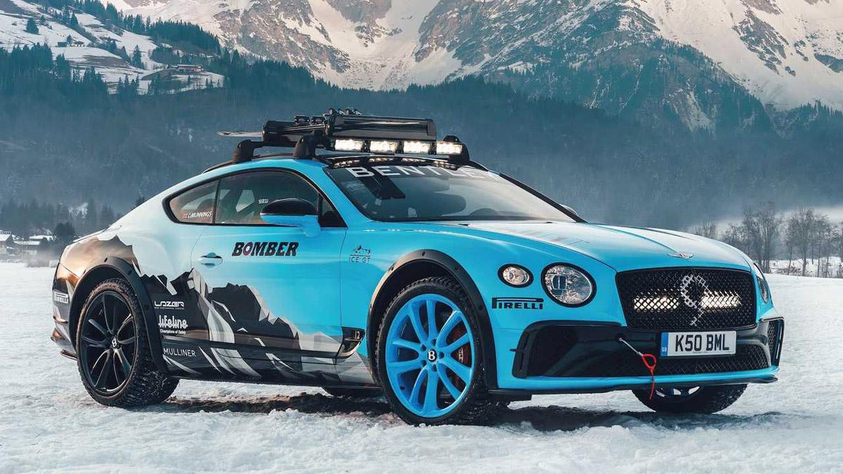 Bentley Created Snowy Continental GT