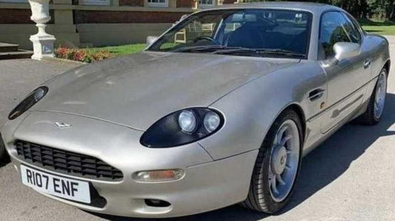 Aston Martin DB7 That Belonged To Football Player Roy Keane On Sale