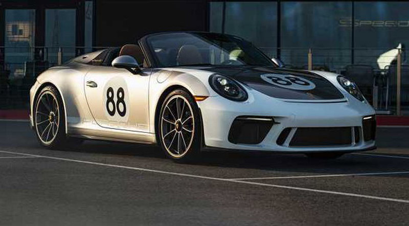 Last Produced Porsche 911 Speedster Ready For Auction