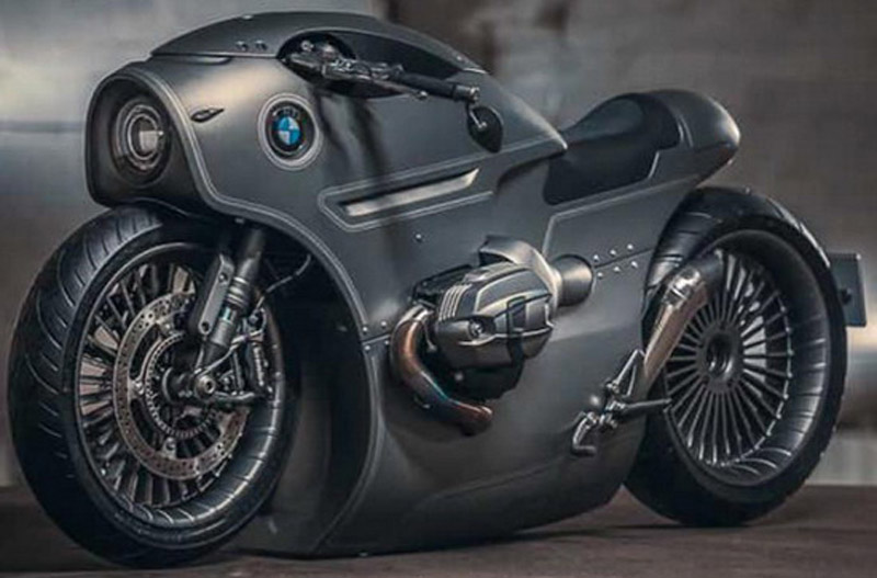 This Is A Real Custom BMW R nineT