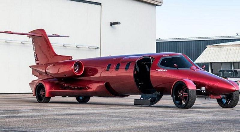 Learmuzina – Combination Of Jet And Car