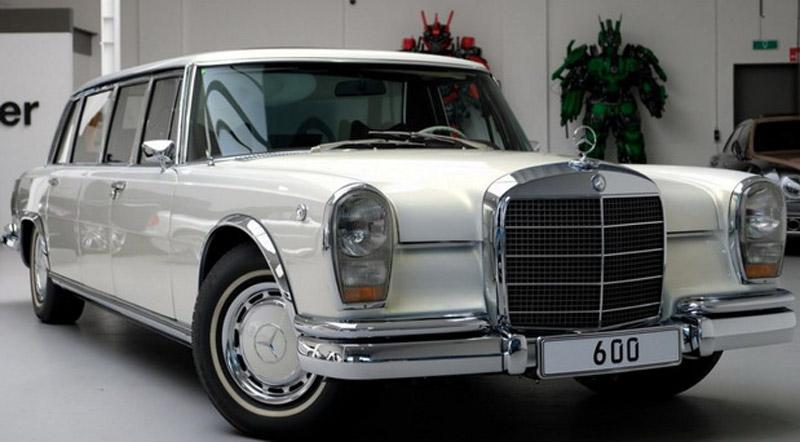 Mercedes-Benz Pullman On Sale For €2.15 Million