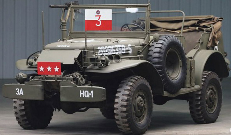 Dodge WC-57 Commanded by Legendary General Patton On Sale