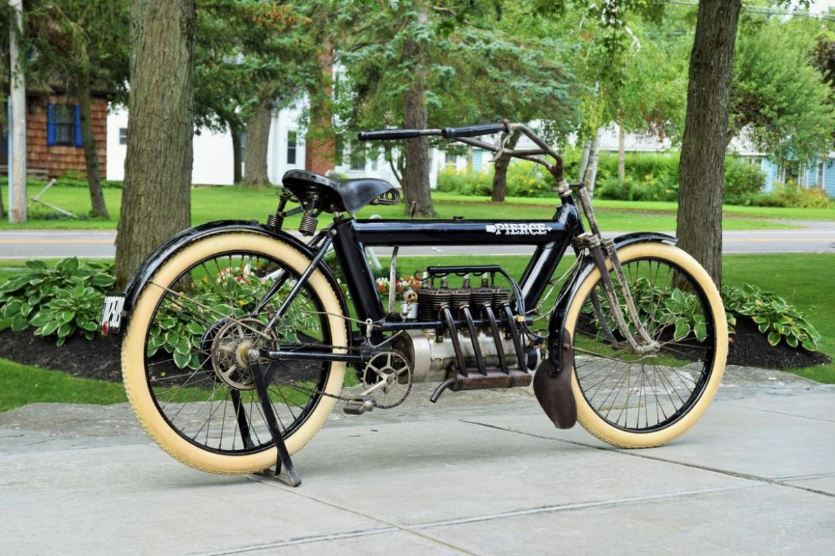 109-Year-Old Pierce Motorcycle Set Auction Record