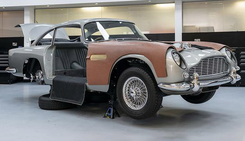 """New"" Aston Martin DB5 Will Cost You £2.75 Million"